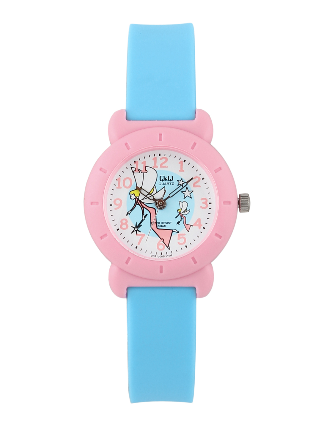 Q&Q Kids Girls Blue Analog Watch