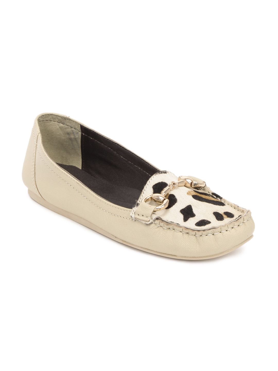 Carlton London Women Cream Shoes