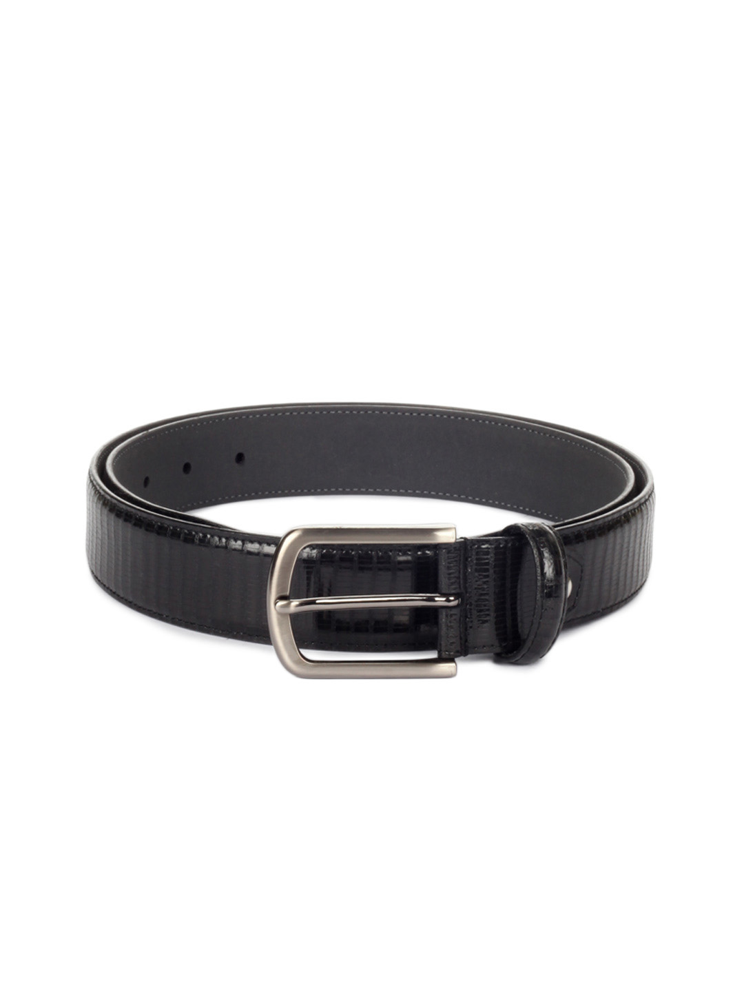 Peter England Men Black Belt