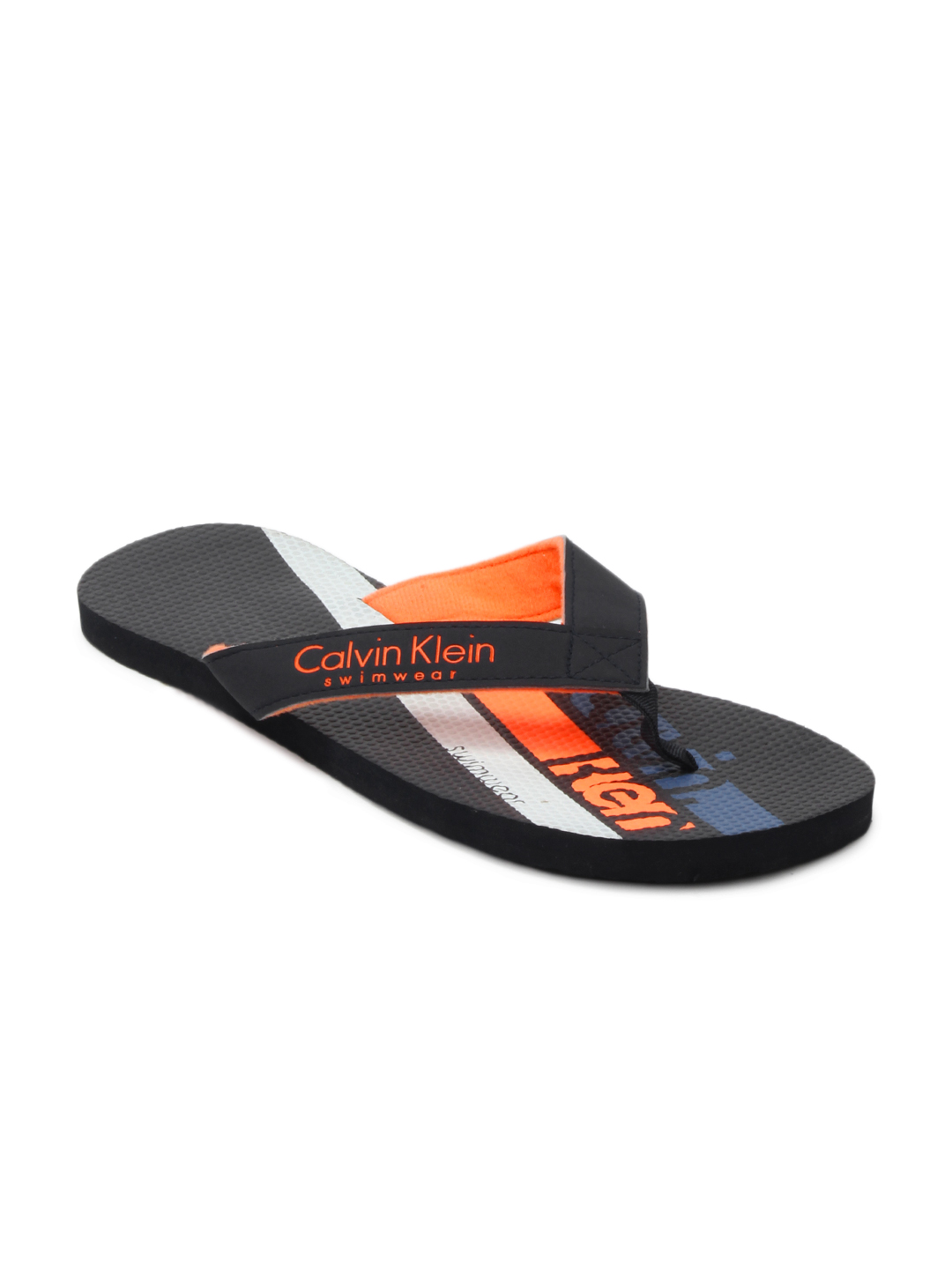 Calvin Klein Men Black Flip Flops