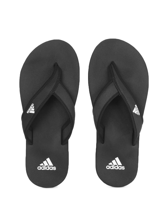 57f2168bc Buy Adidas Men Black Adi Rio Flip Flops 1415921 for men online in ...