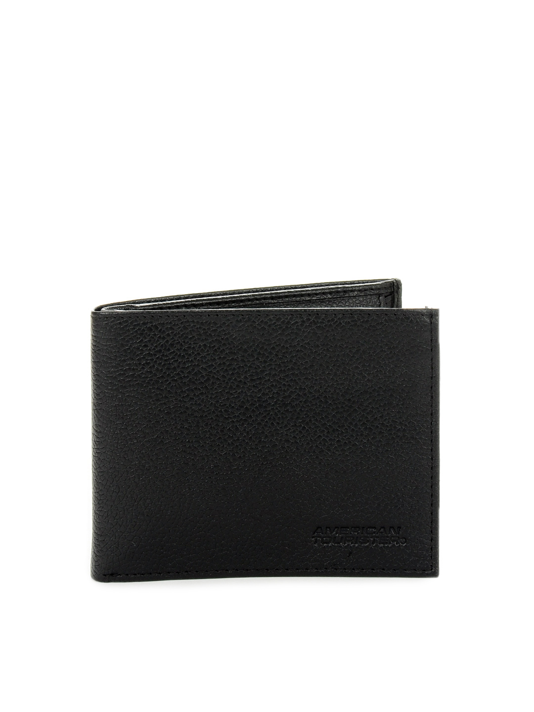 American Tourister Men Black Organiser Wallet