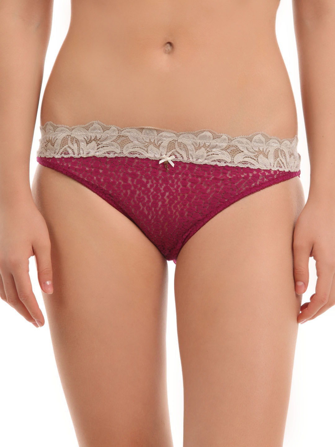 Avirate Magenta Hi-Leg Brief