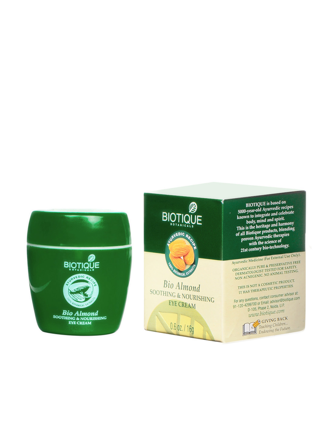 Biotique Women Bio Almond Eye Cream