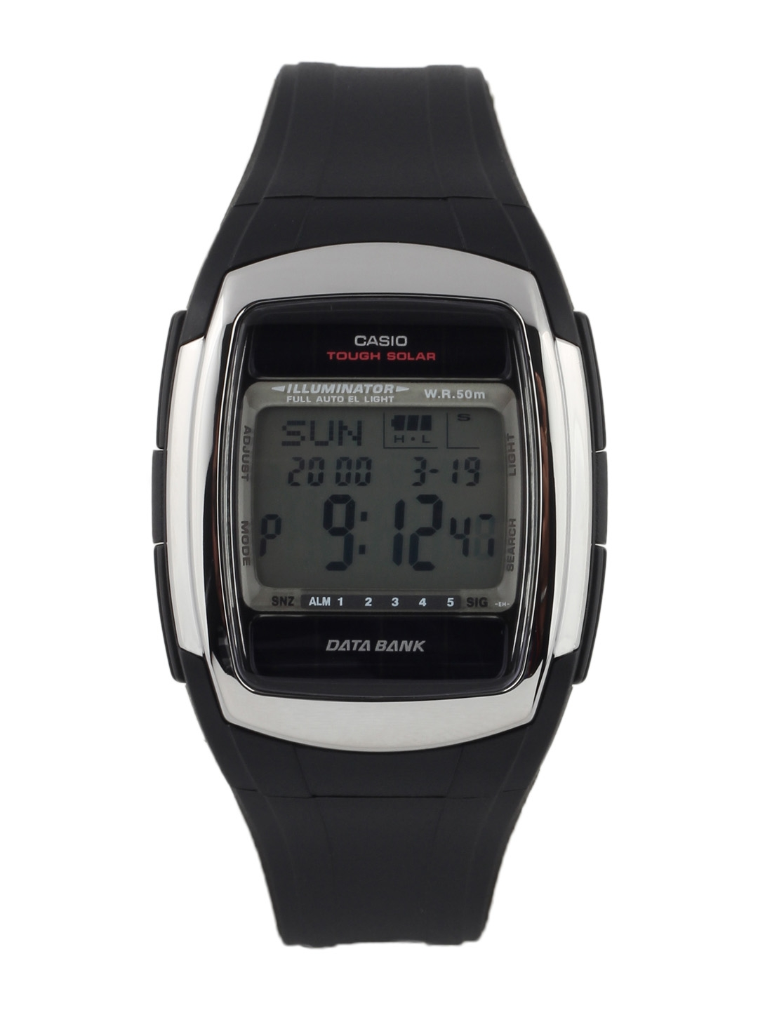Casio Men Black Digital Watch