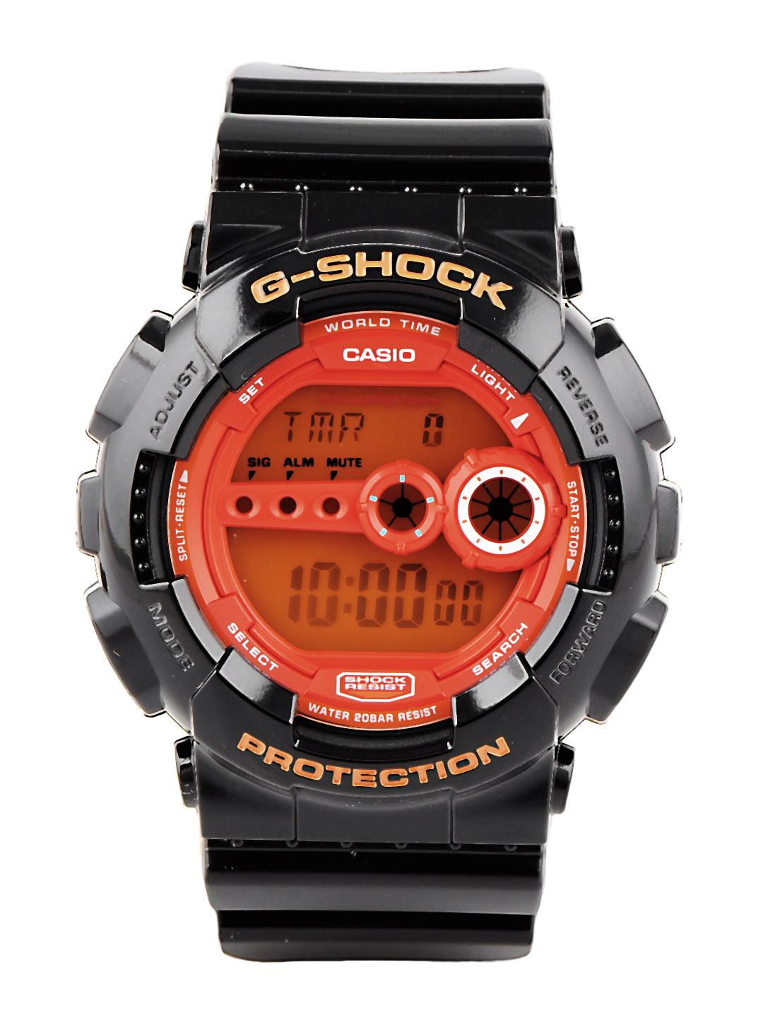 Casio G-Shock Men Black Digital Watch