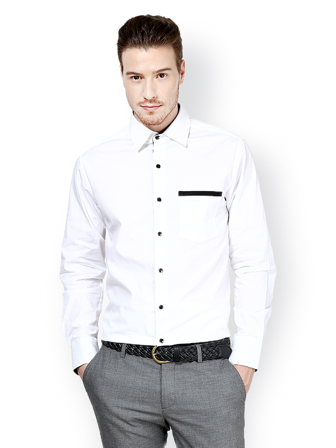 Best formal shirts and pants for men for Mens formal white shirts