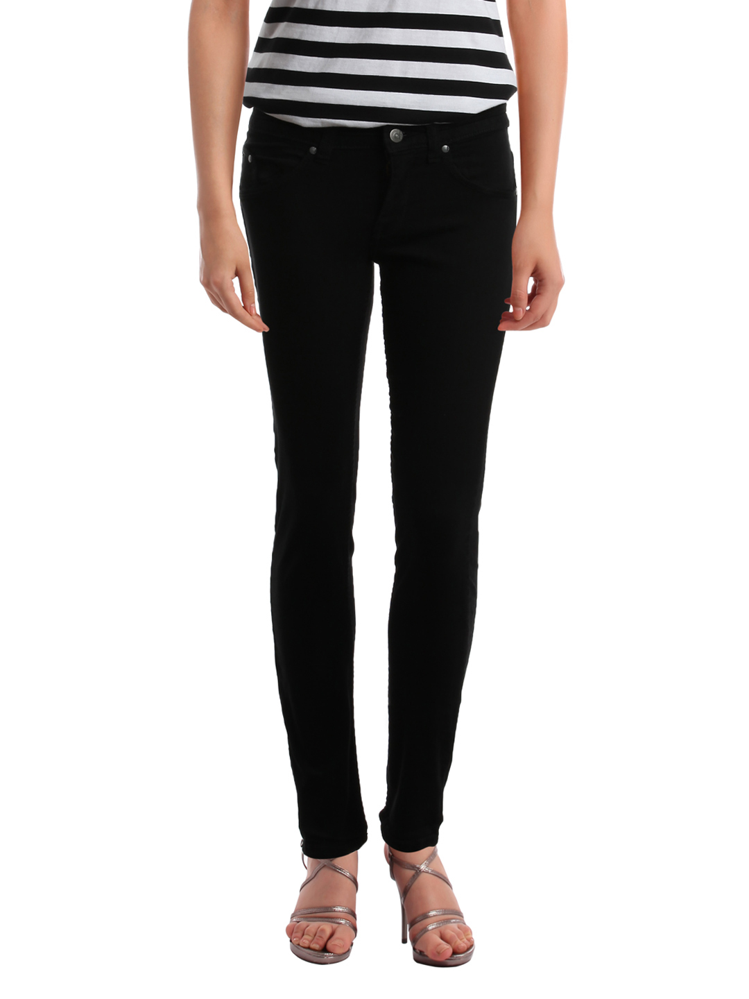 Elle Women Black Jeans