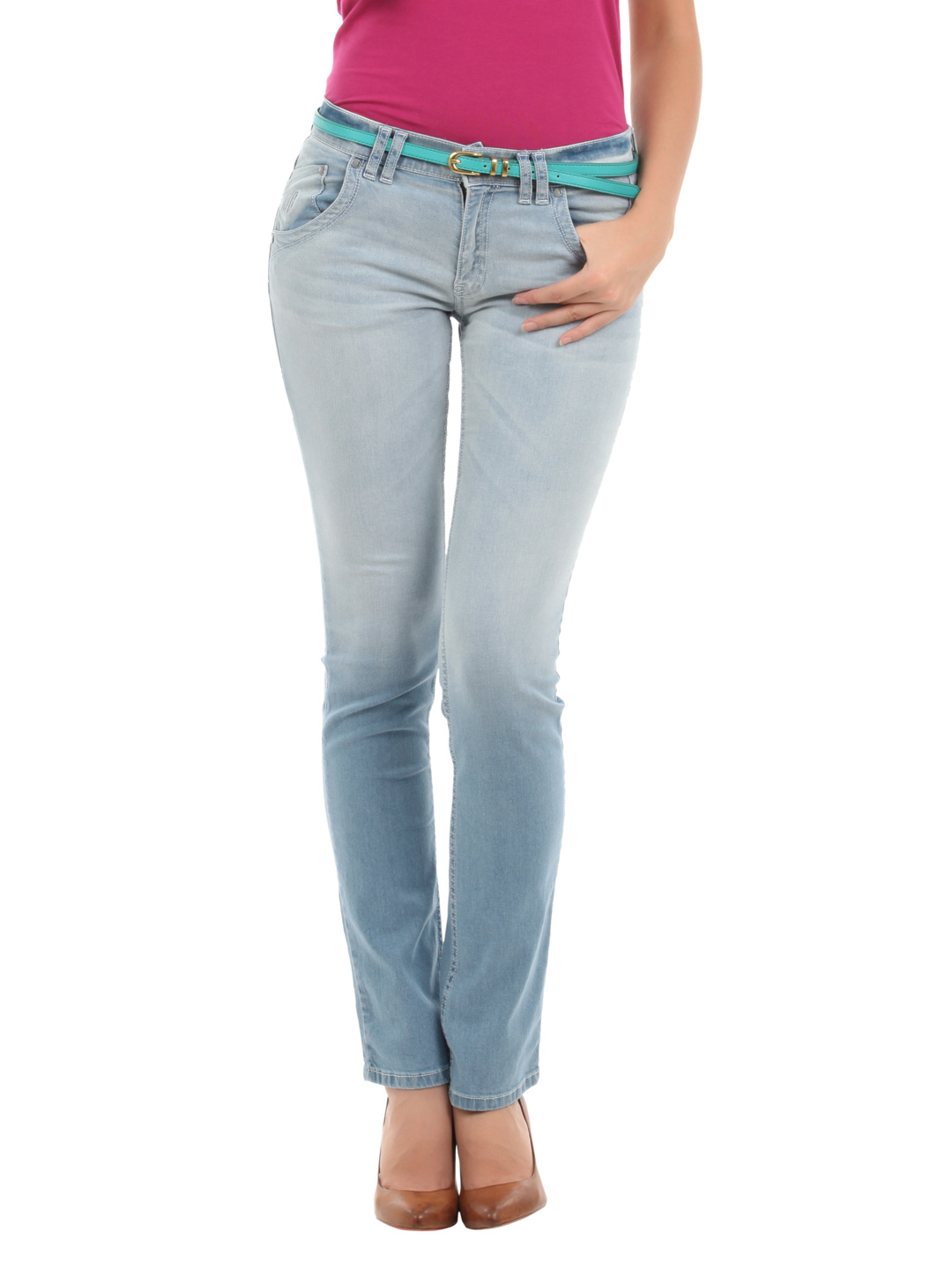 Elle Women Blue Jeans