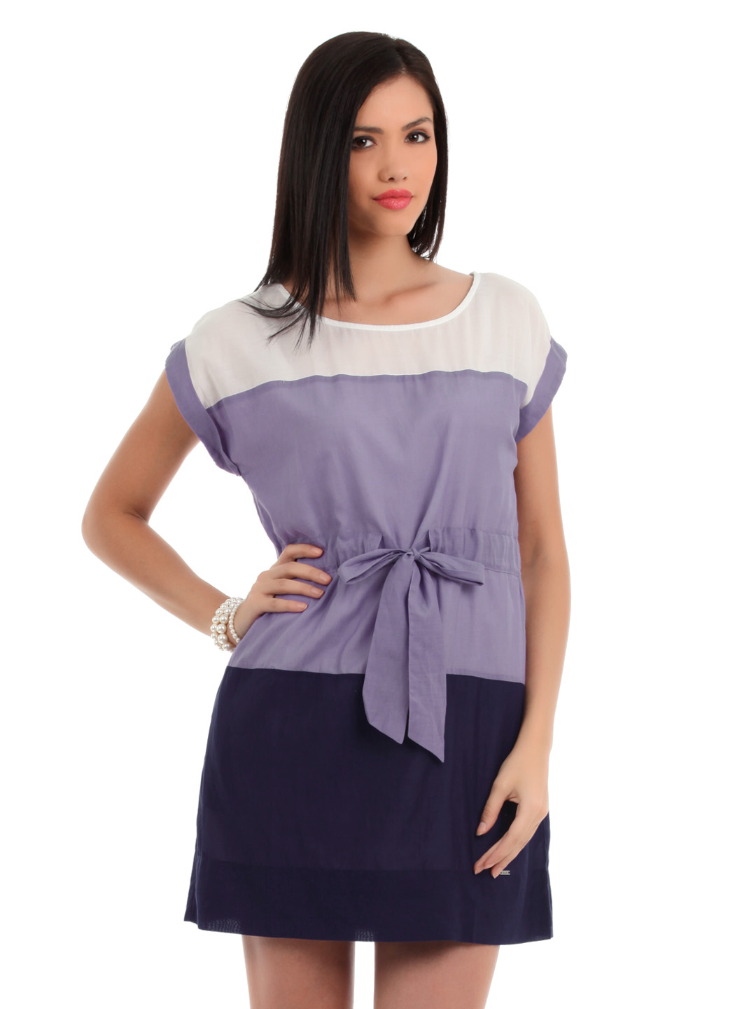 Elle Women Purple Tunic