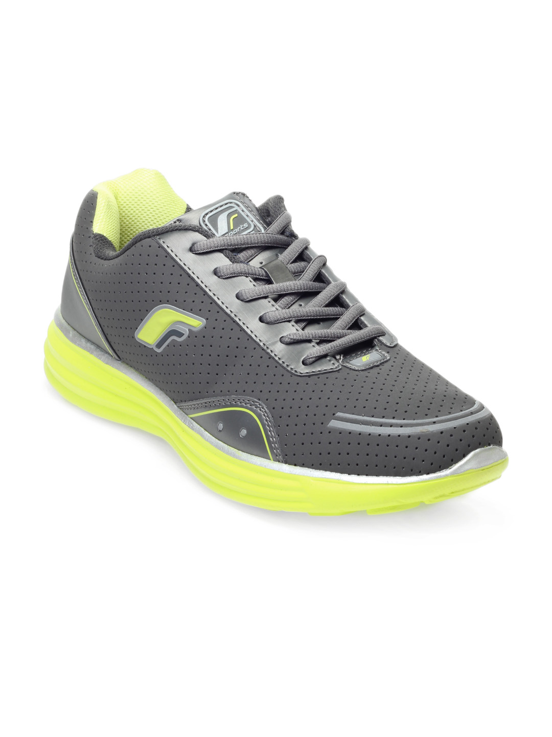 F Sports Men Grey Zero Gravity Sports Shoes