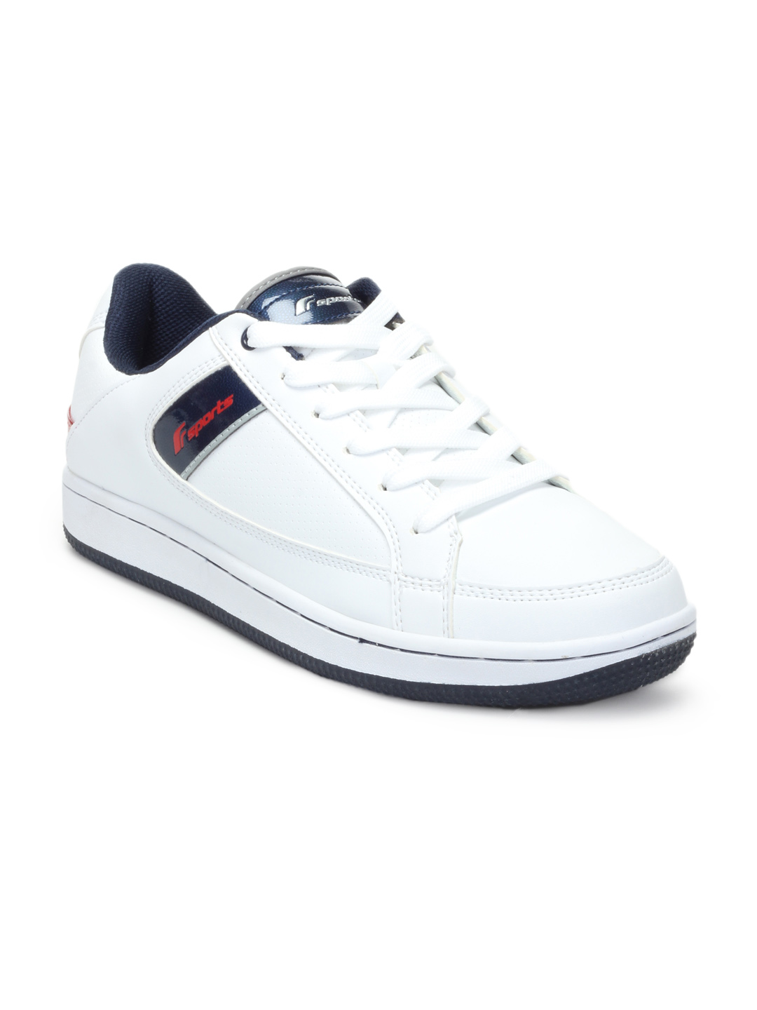 F Sports Men White Voyager Sports Shoes