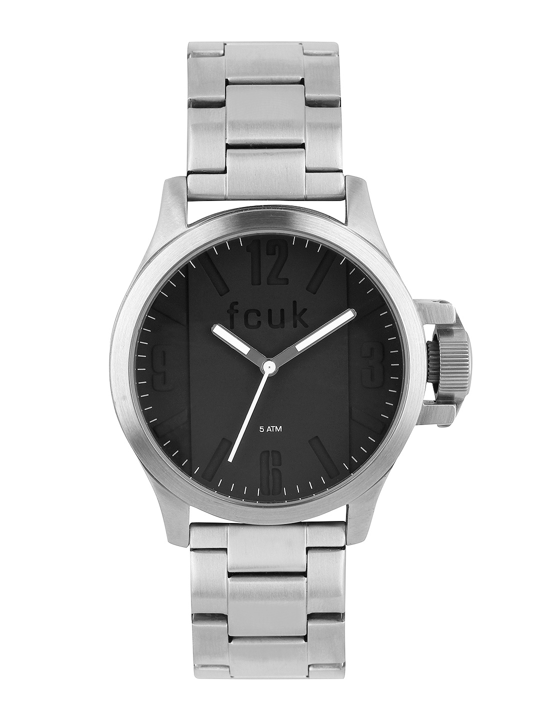 buy french connection men black dial watch fc1162bsmgj watches buy french connection men black dial watch fc1162bsmgj watches for men myntra