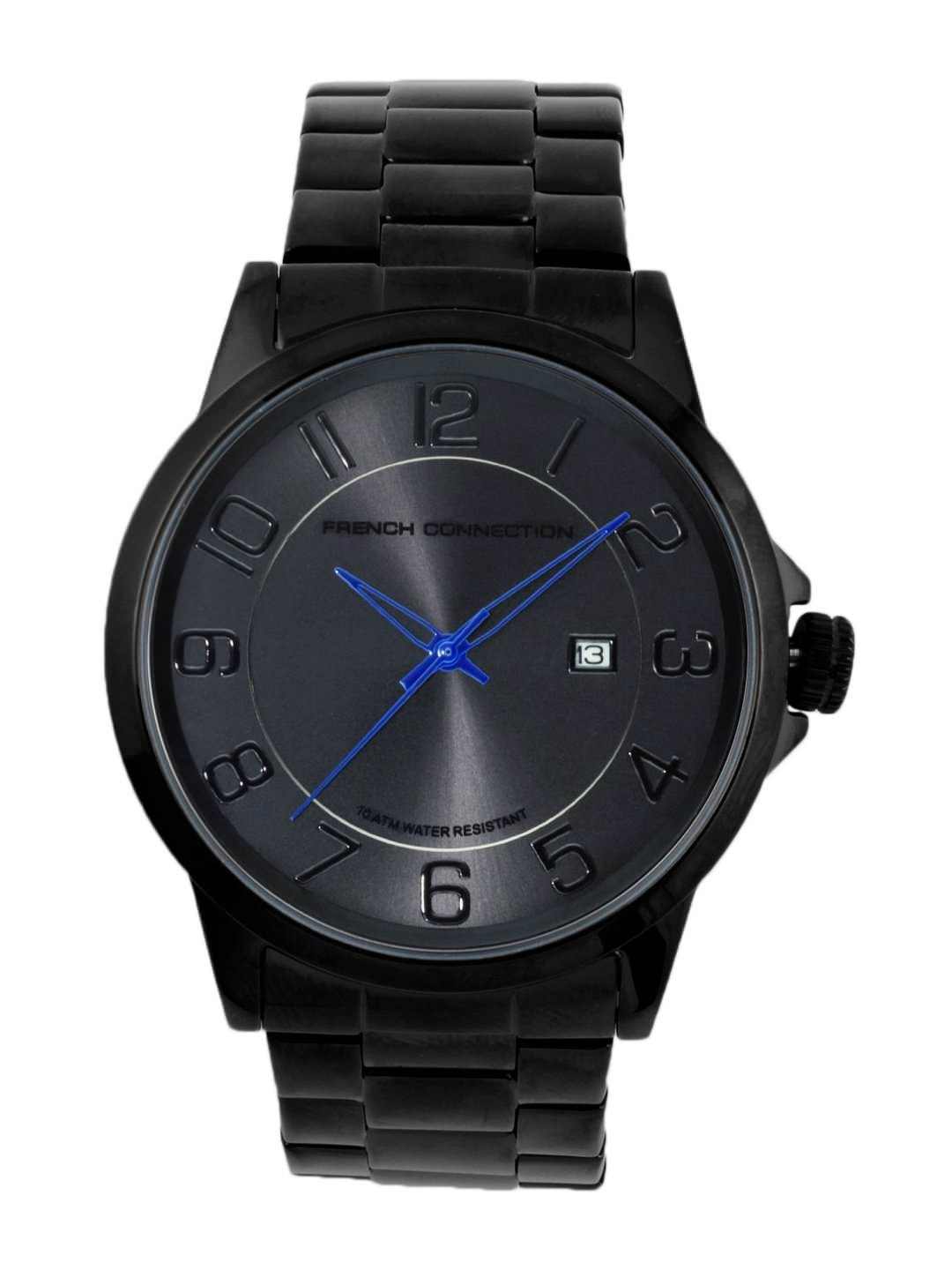 FCUK Men Black Watch