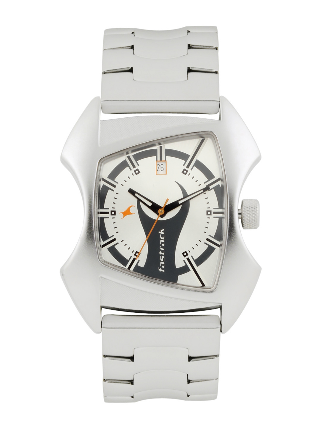 Fastrack Men Silver Watch