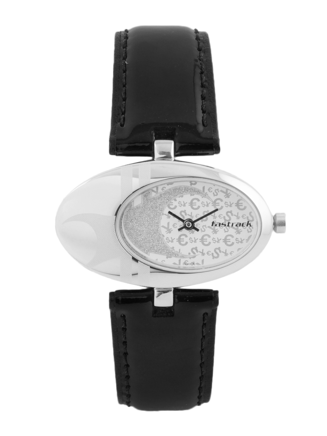 Fastrack Women Steel Dial Watch