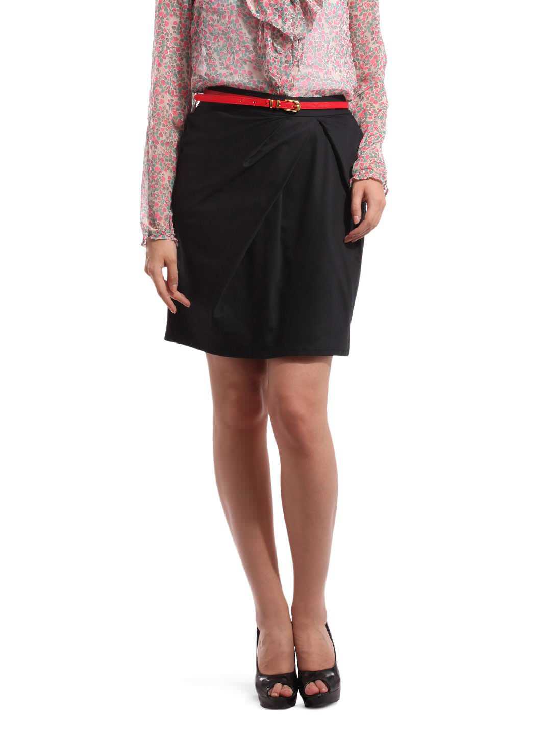 Femella Women Black Skirt