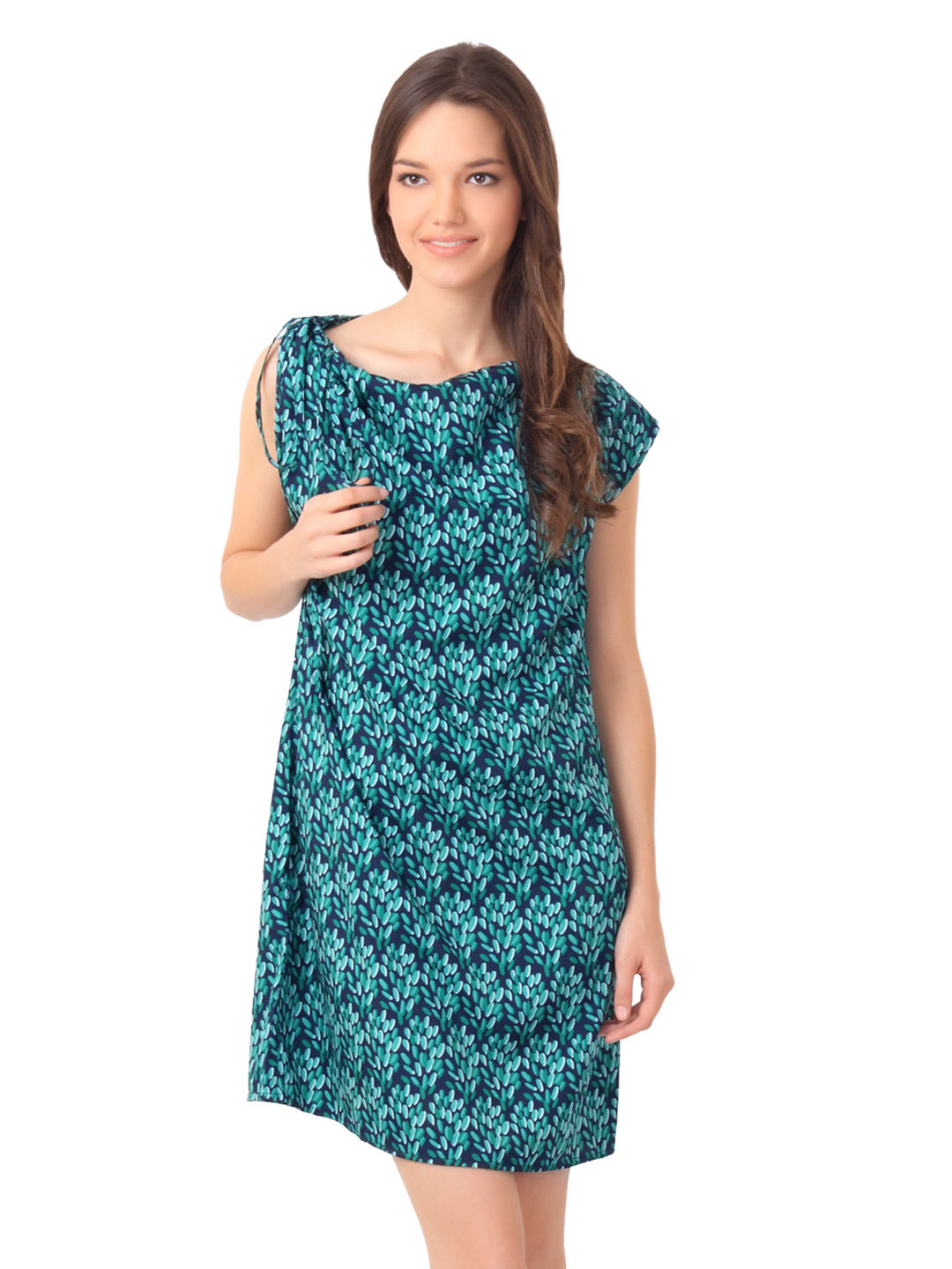 Femella Women Green Dress