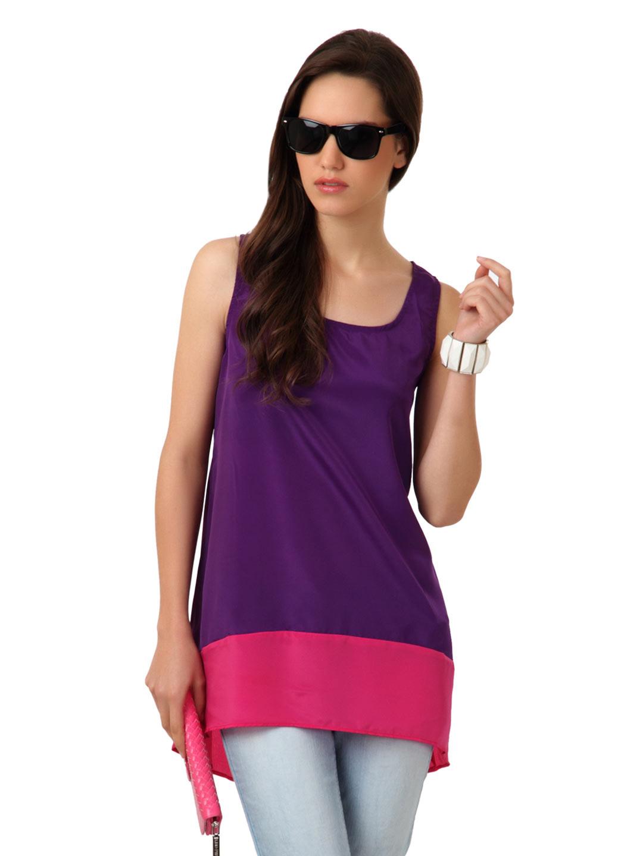 Purple Tunic Tops
