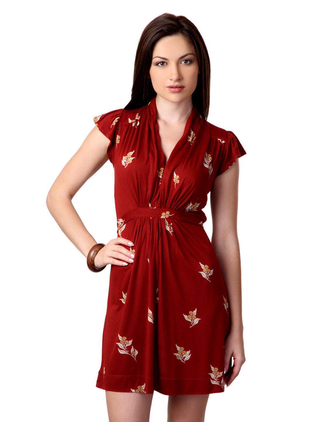 French Connection Women Red Dress