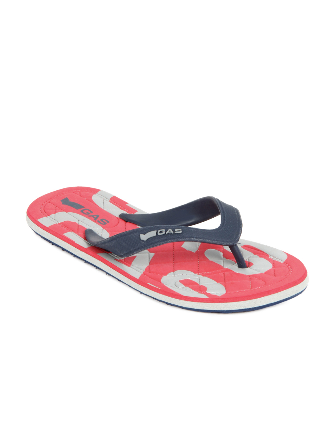 GAS Men Blue Beach Flip Flops