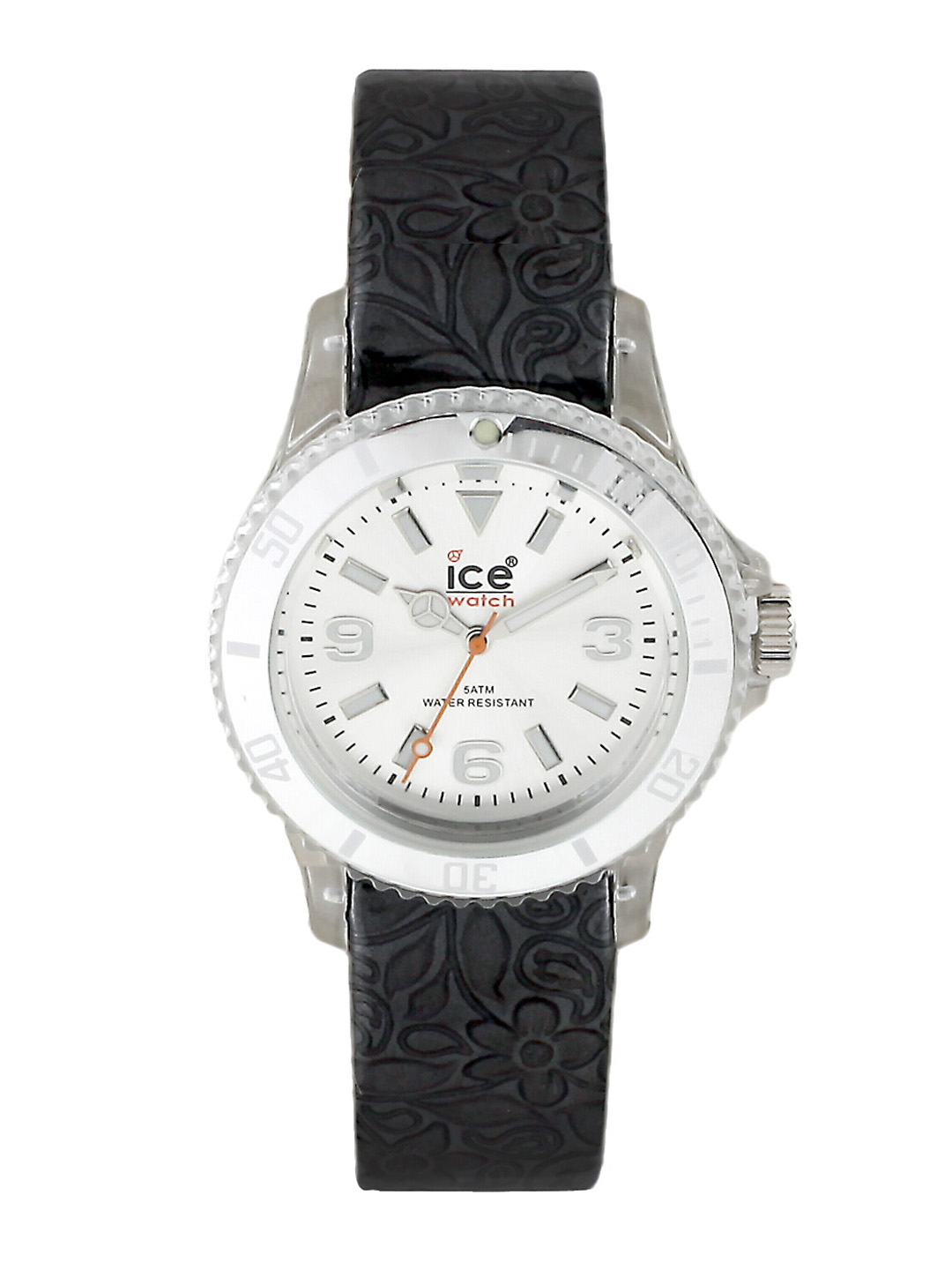 Ice Watch Women Flower Black Watch