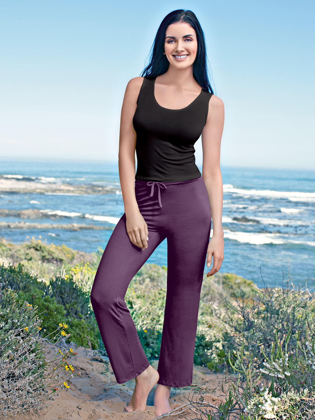 Inaya Women Purple Lounge Pants