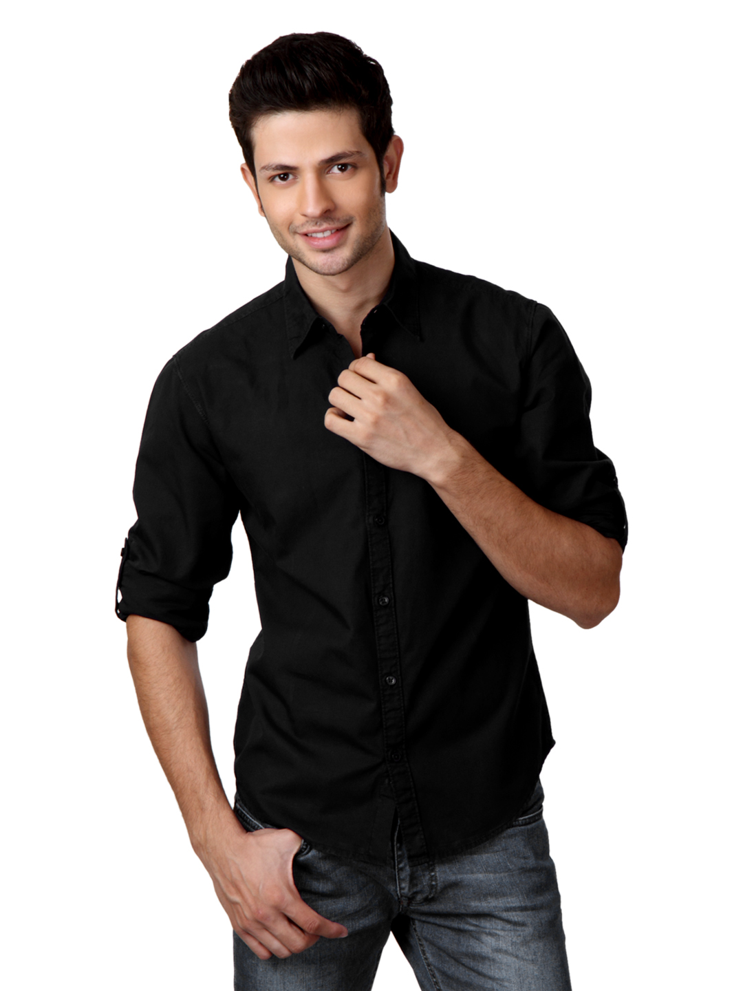 Locomotive Men Black Shirt