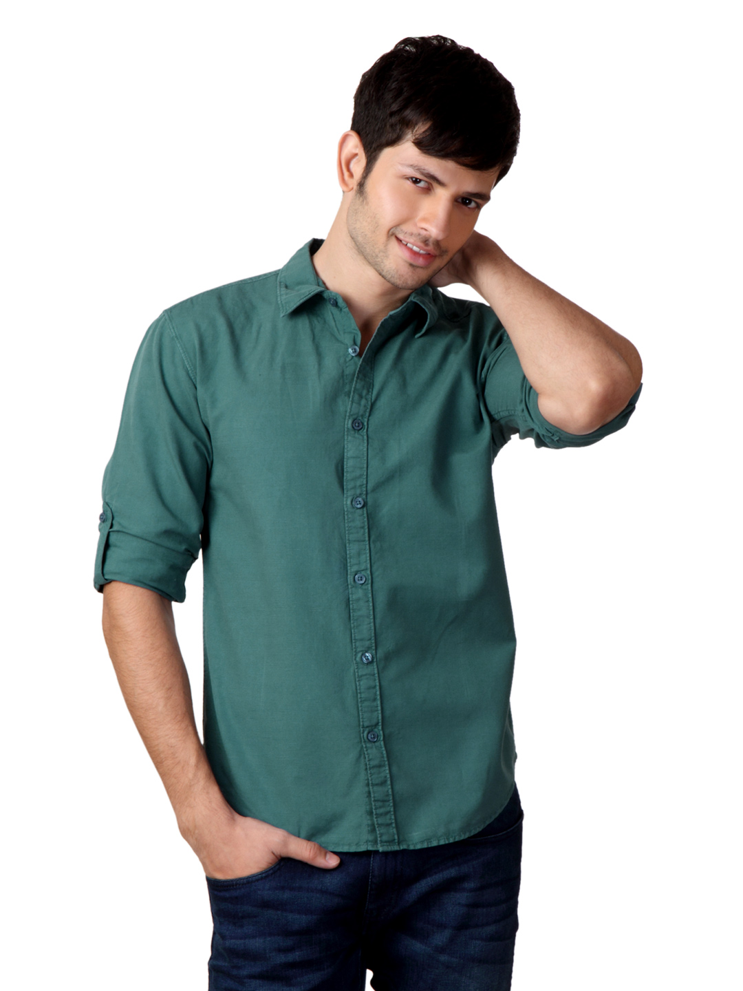 Locomotive Men Teal Shirt