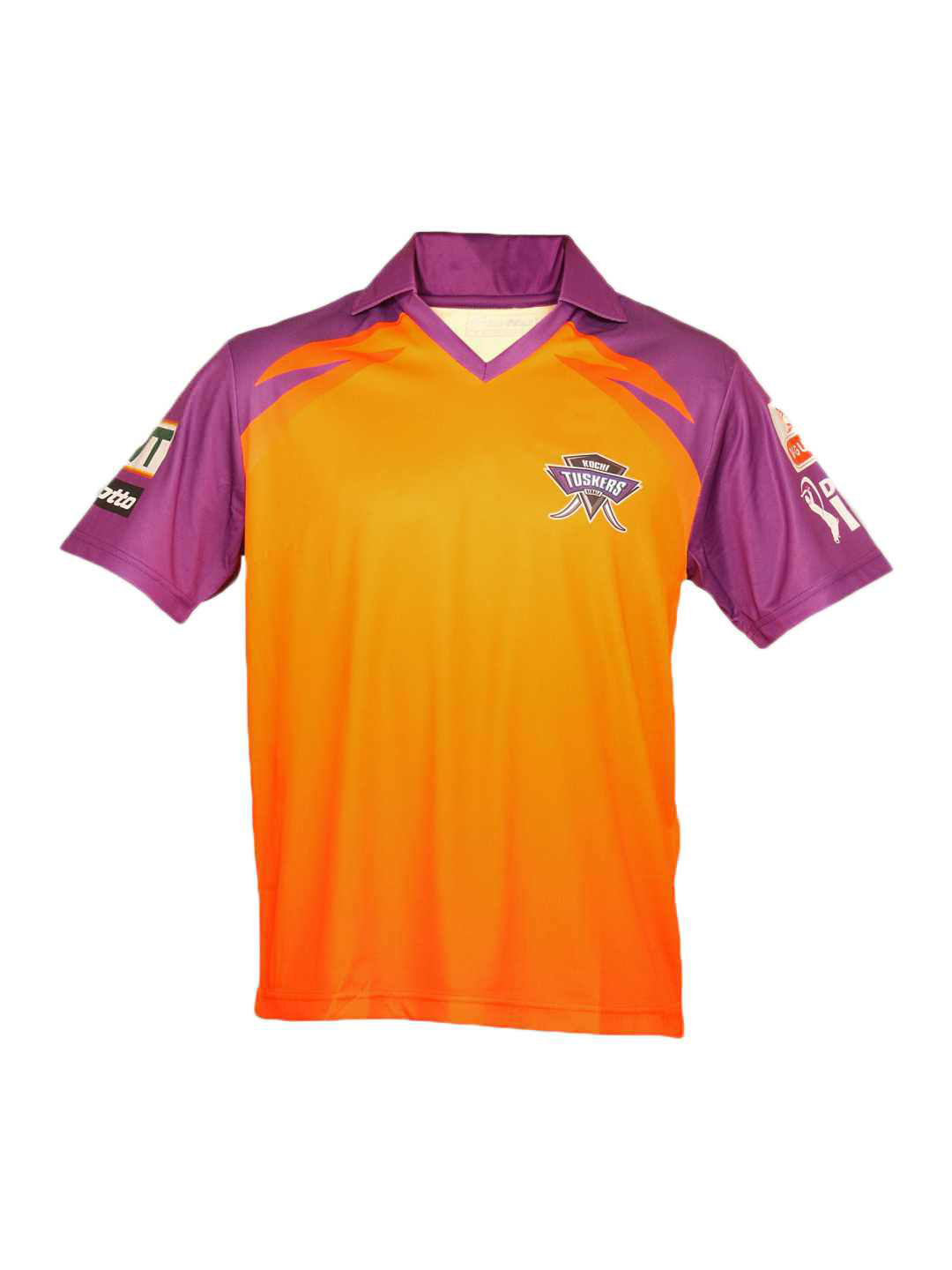Lotto Men Kochi Tuskers Authentic Orange Jersey