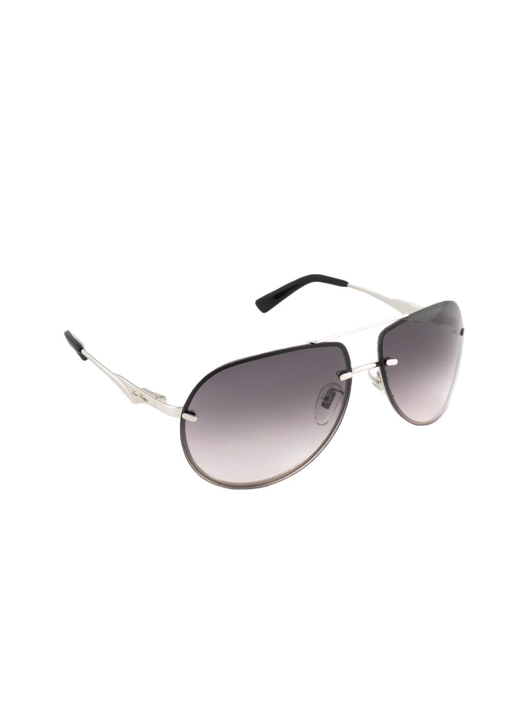 Louis Philippe Men Grey Sunglasses