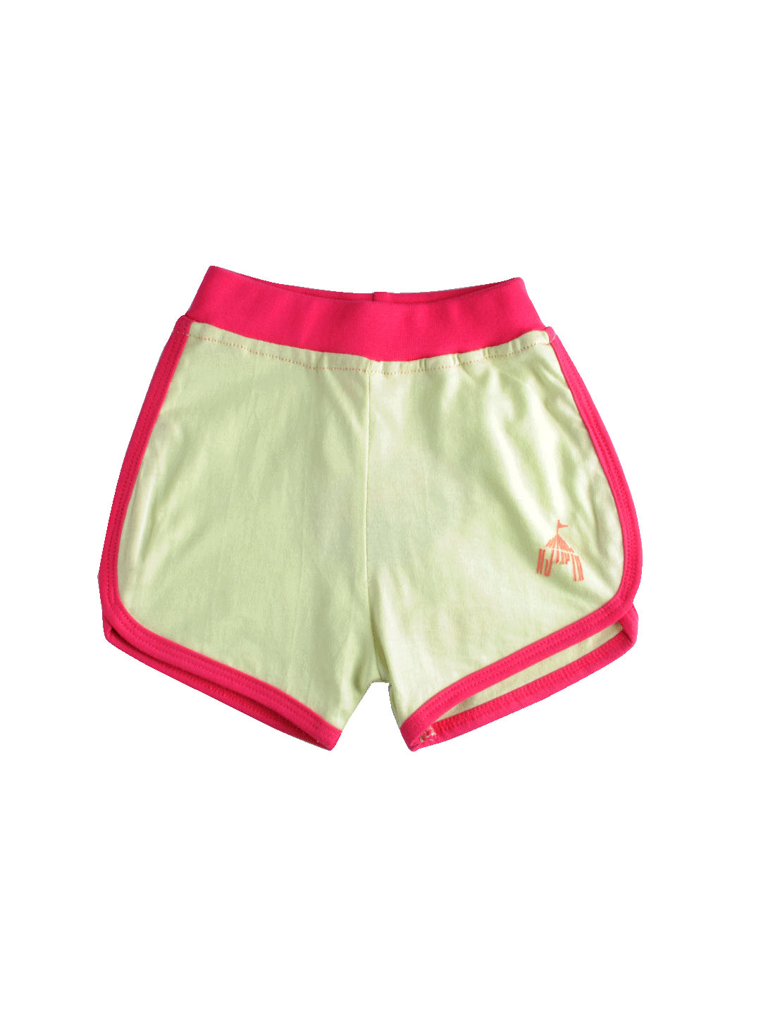 Madagascar 3 Girls Light Green Shorts