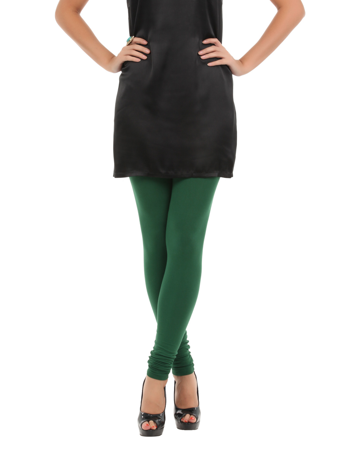 Myntra Women Green Leggings