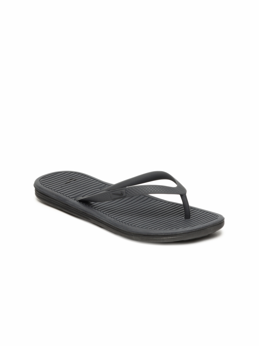 Nike Women Black Solarsoft Thong II Flip Flops
