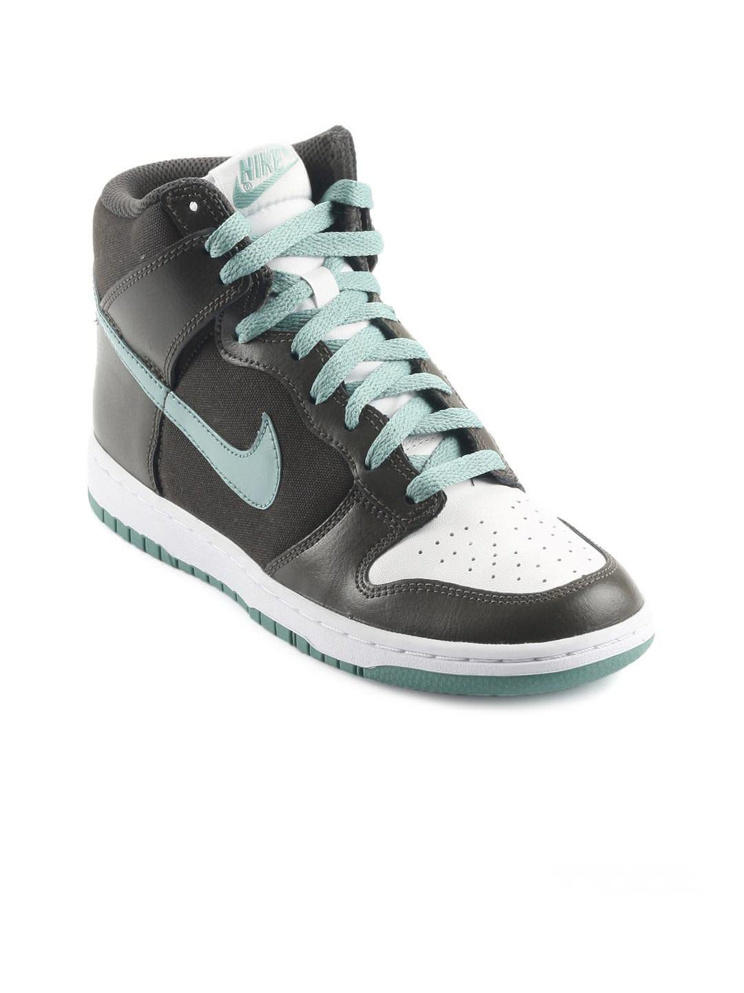 Nike Women Dunk High Skinny Olive Casual Shoes
