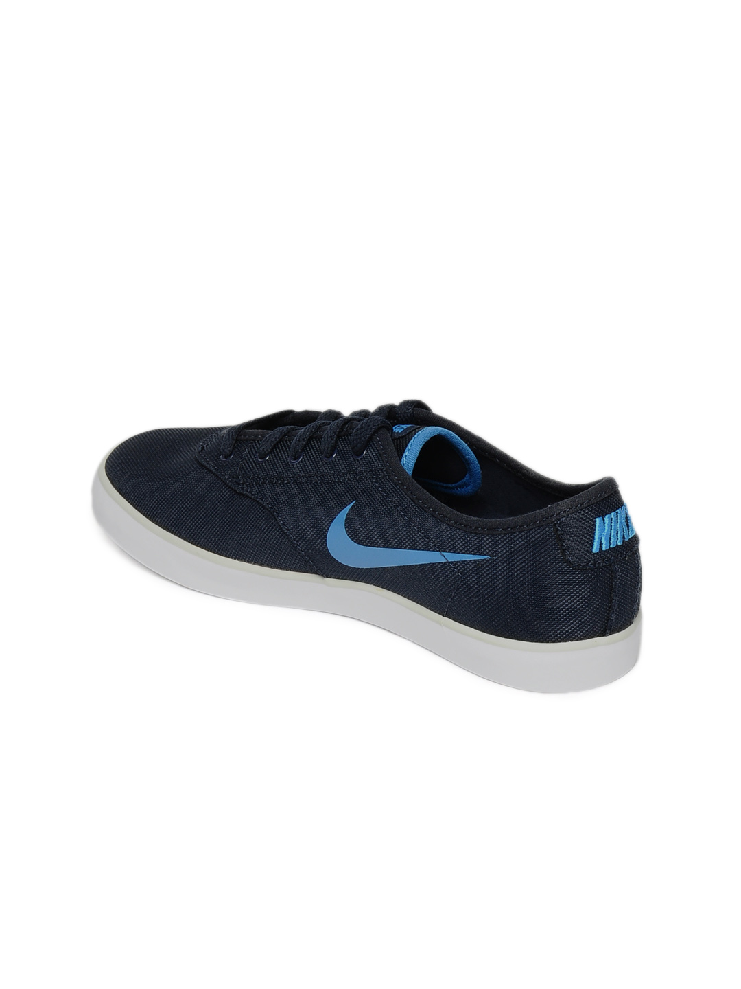 Sooyoung and Nike Eclipse II Women's Blue Casual Shoes Photograph