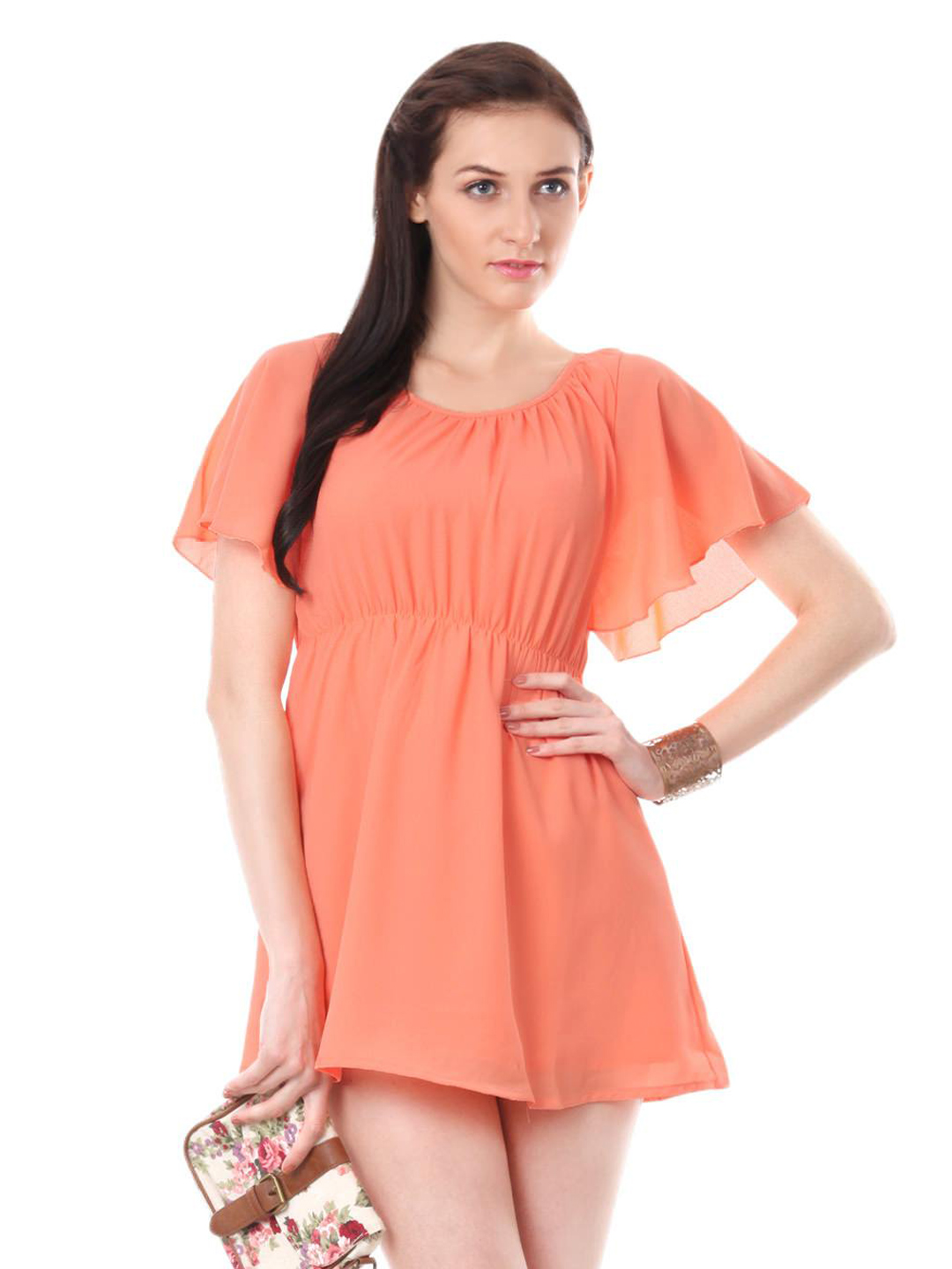 ONLY Women Peach Dress