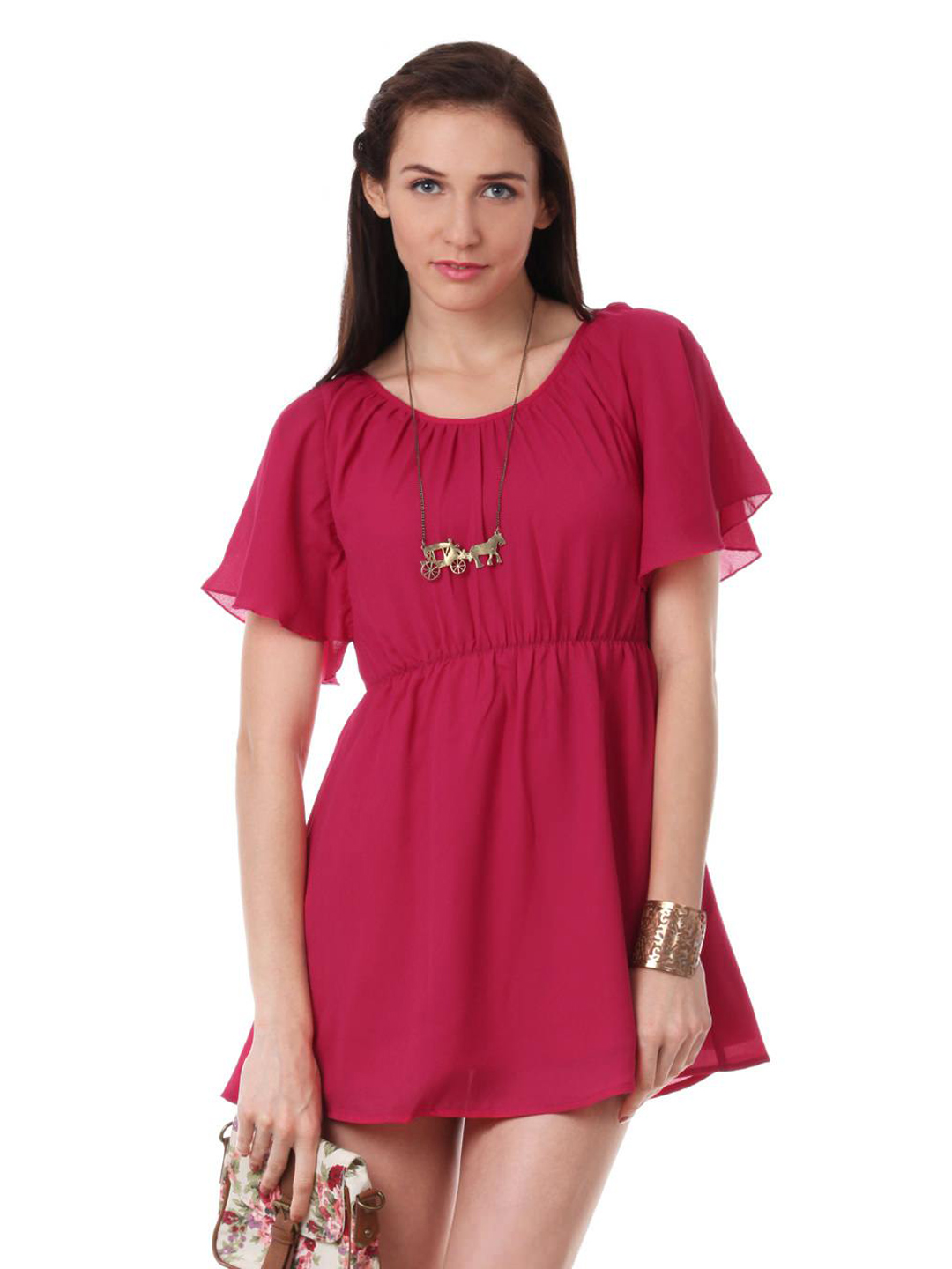 ONLY Women Pink Dress