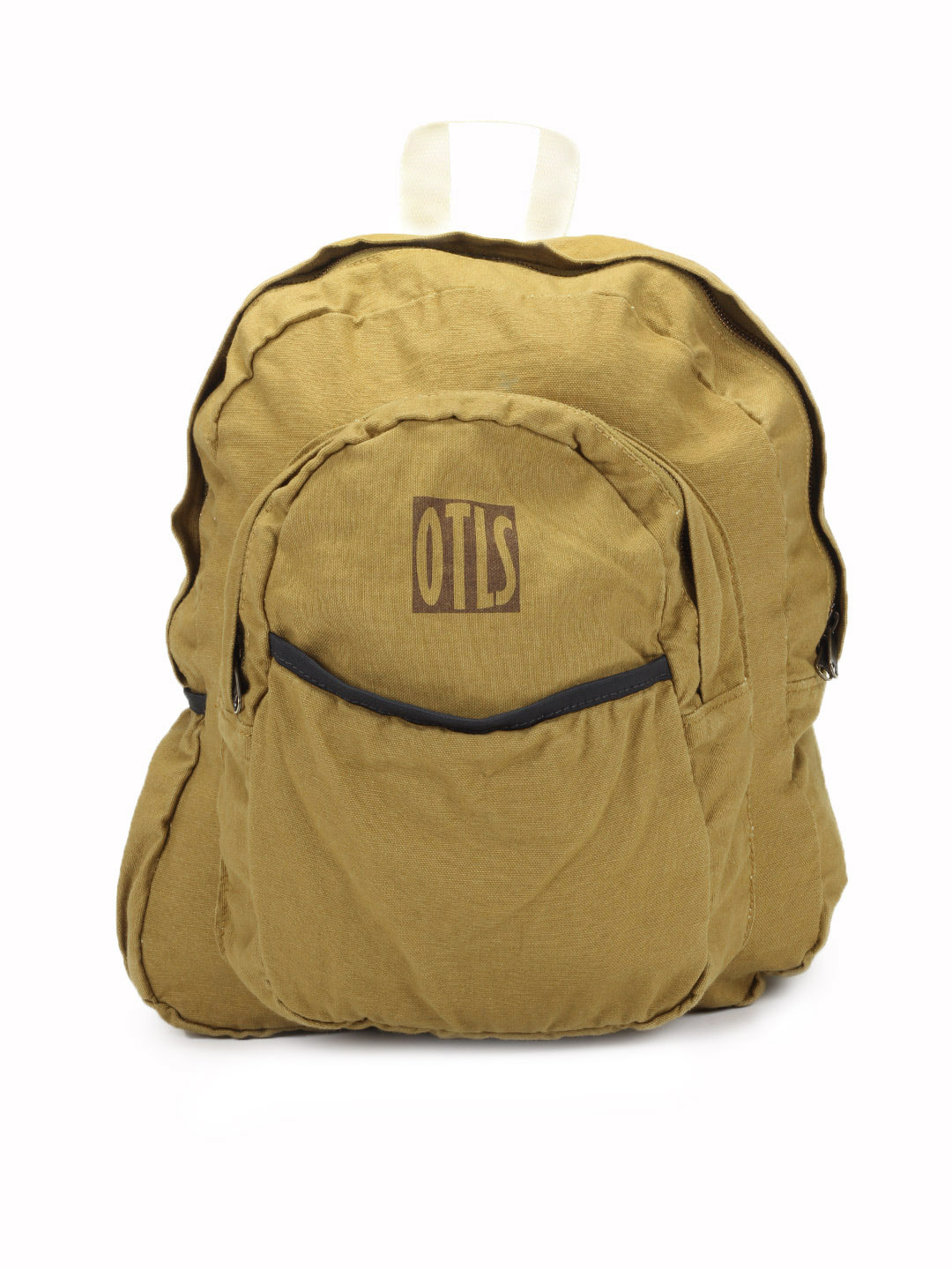 OTLS Unisex Mustard Brown Backpack
