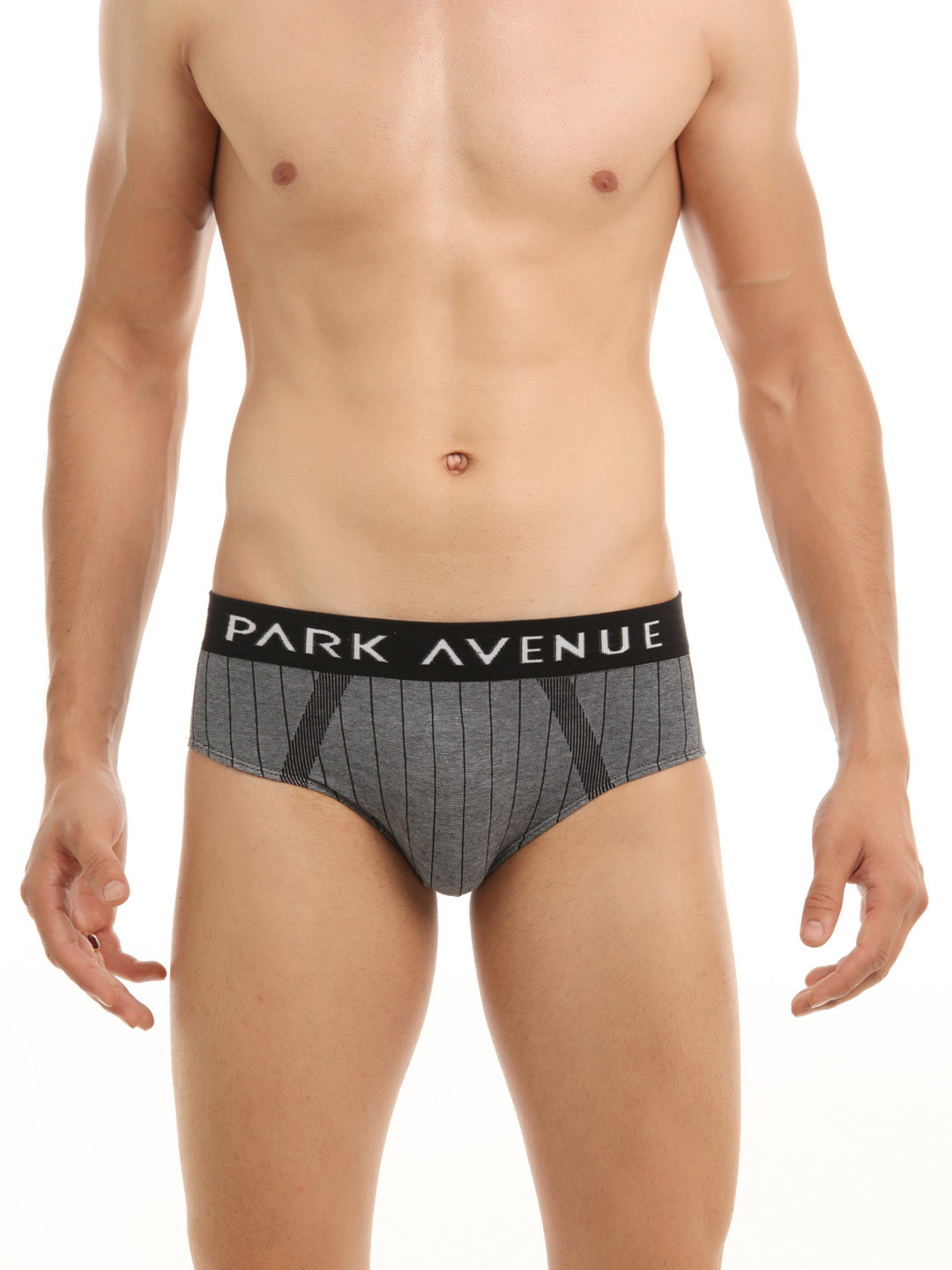 Park Avenue Men Grey Briefs