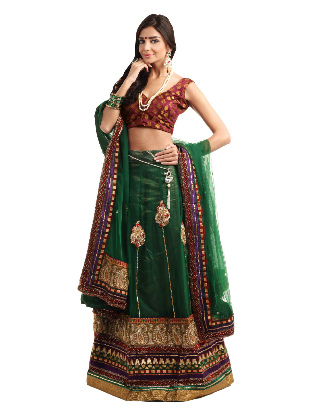 Green Lehenga Wallpaper Photos Pictures Pics Images 2013
