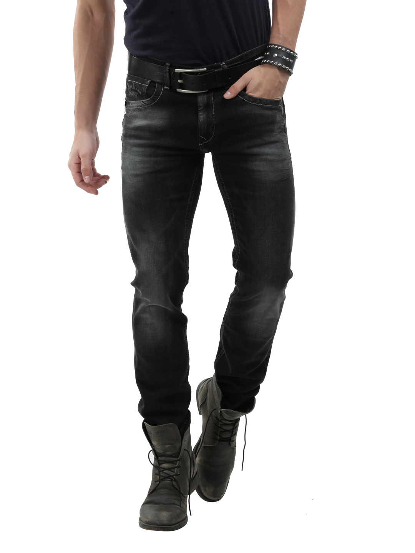 Men Black Jeans Style