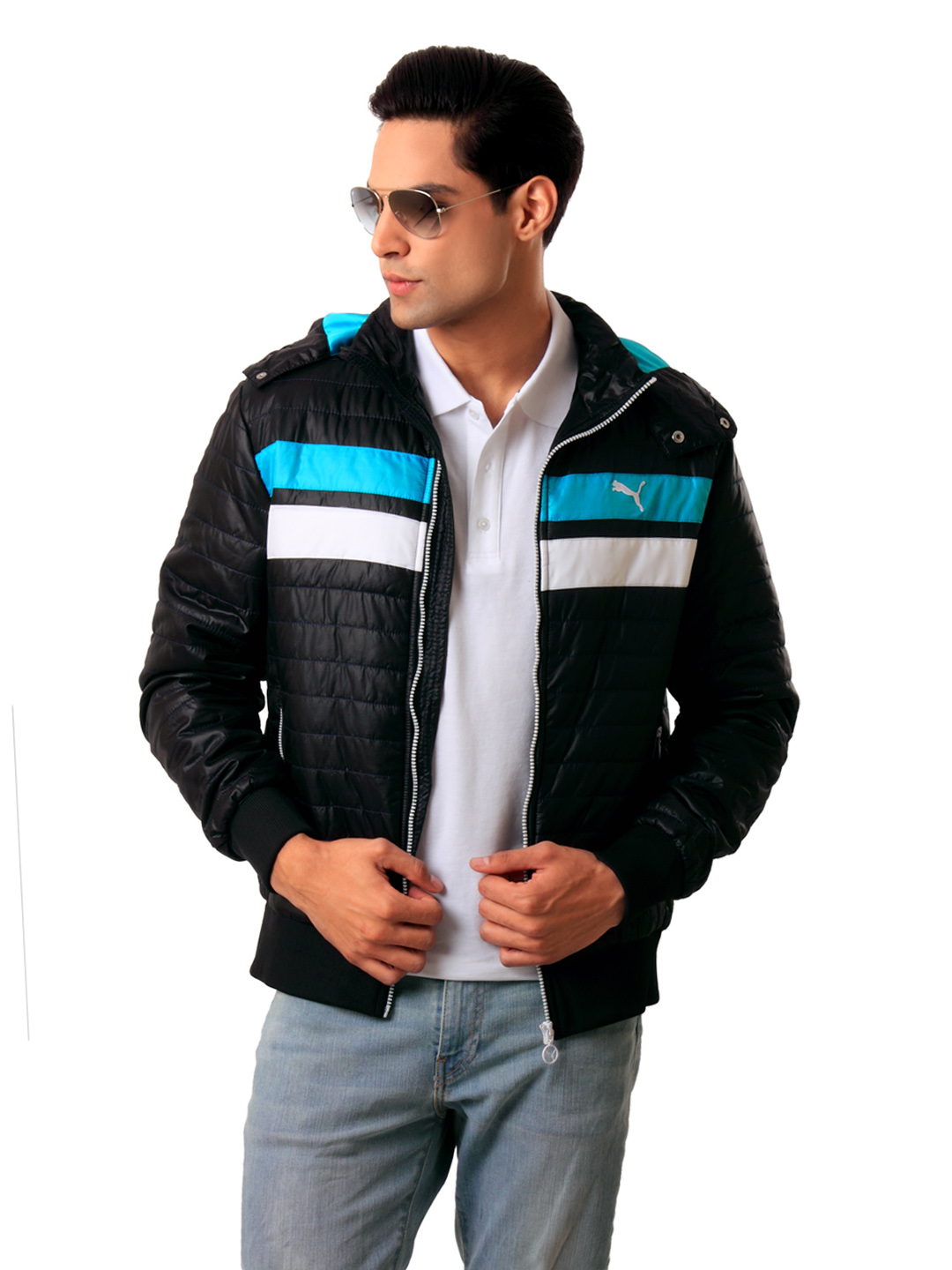 Puma Men Black Jacket