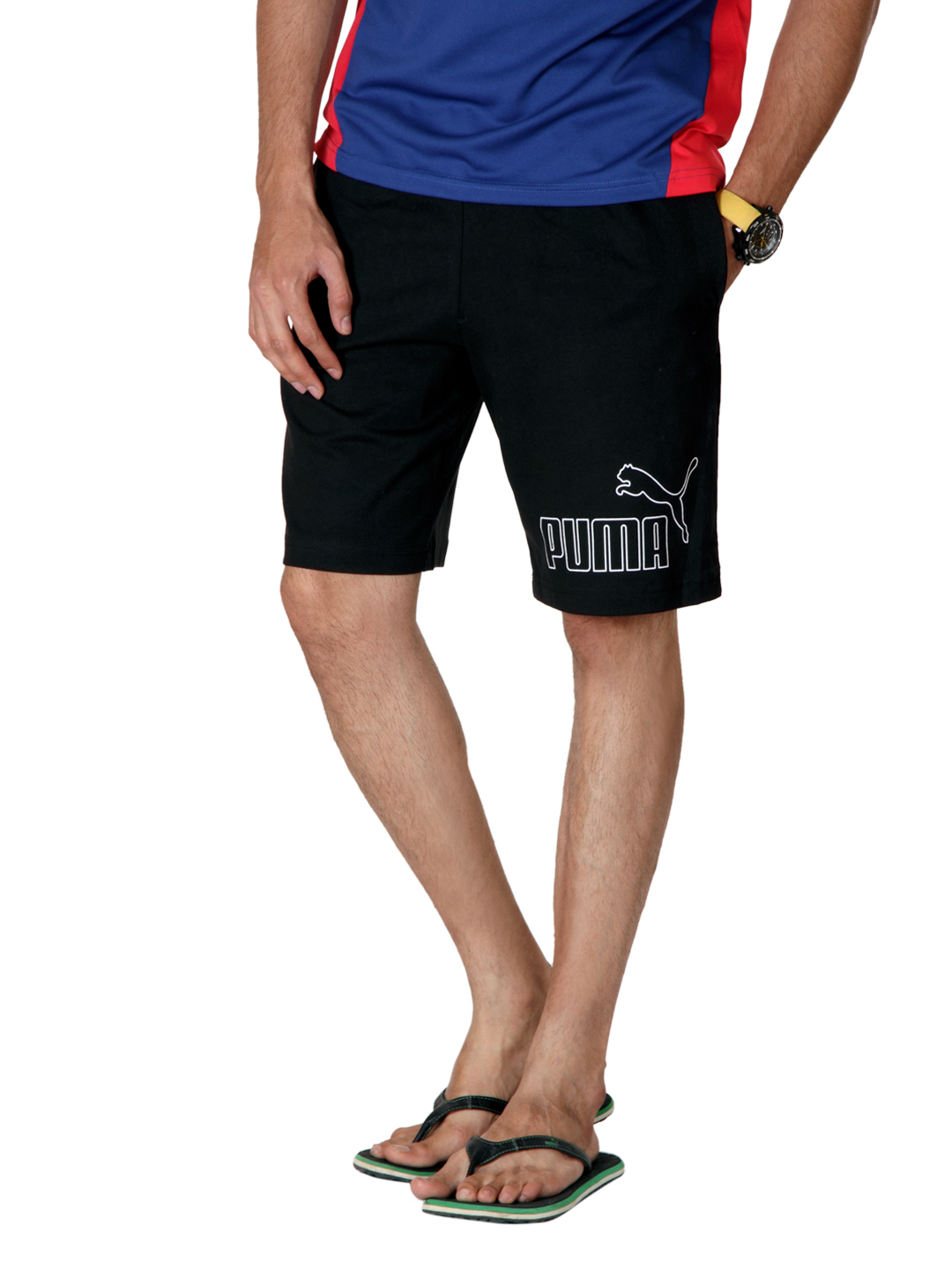 Puma Men Black Shorts
