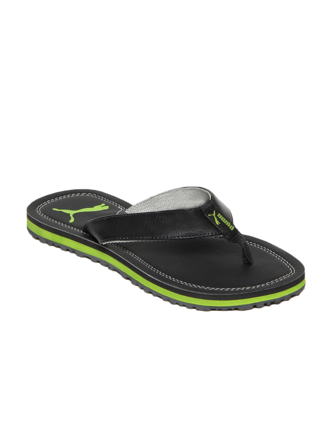 us 10 size puma men tango ii black flip flop ebay. Black Bedroom Furniture Sets. Home Design Ideas