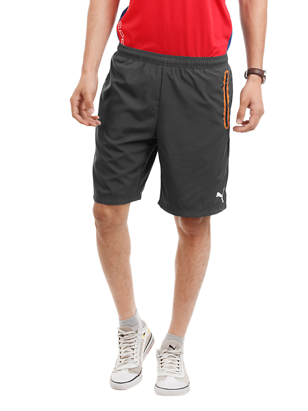 Puma Men Evo Speed Grey Shorts