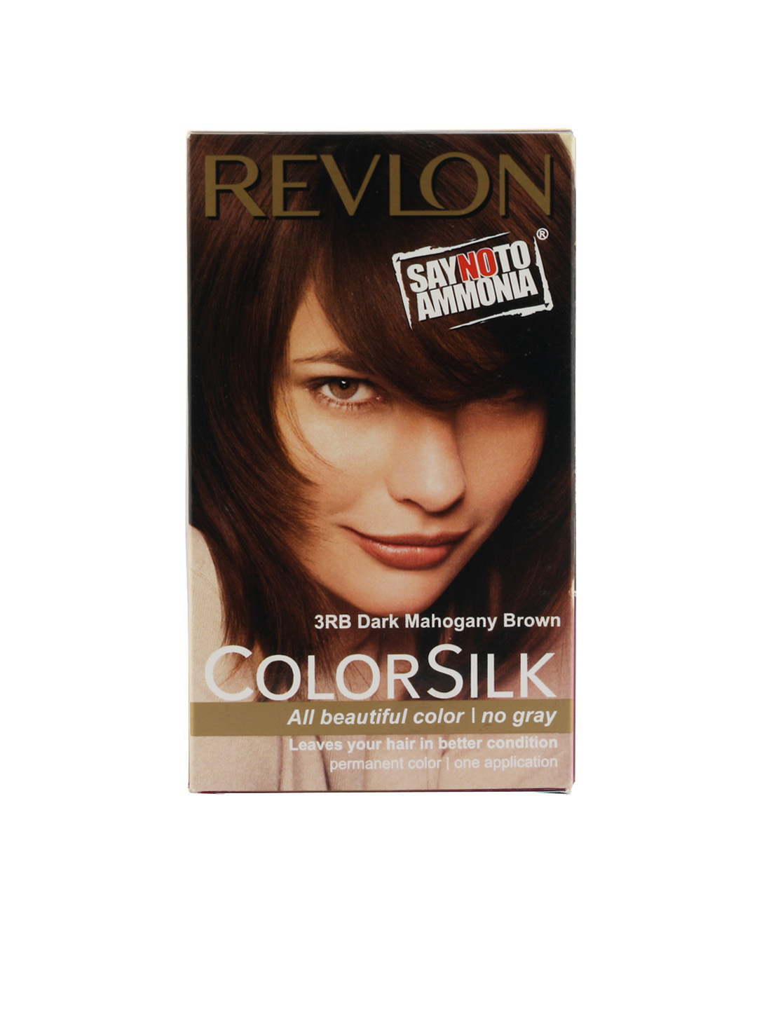 Revlon Women Color Silk Dark Mahogany Brown Hair Colour 3RB