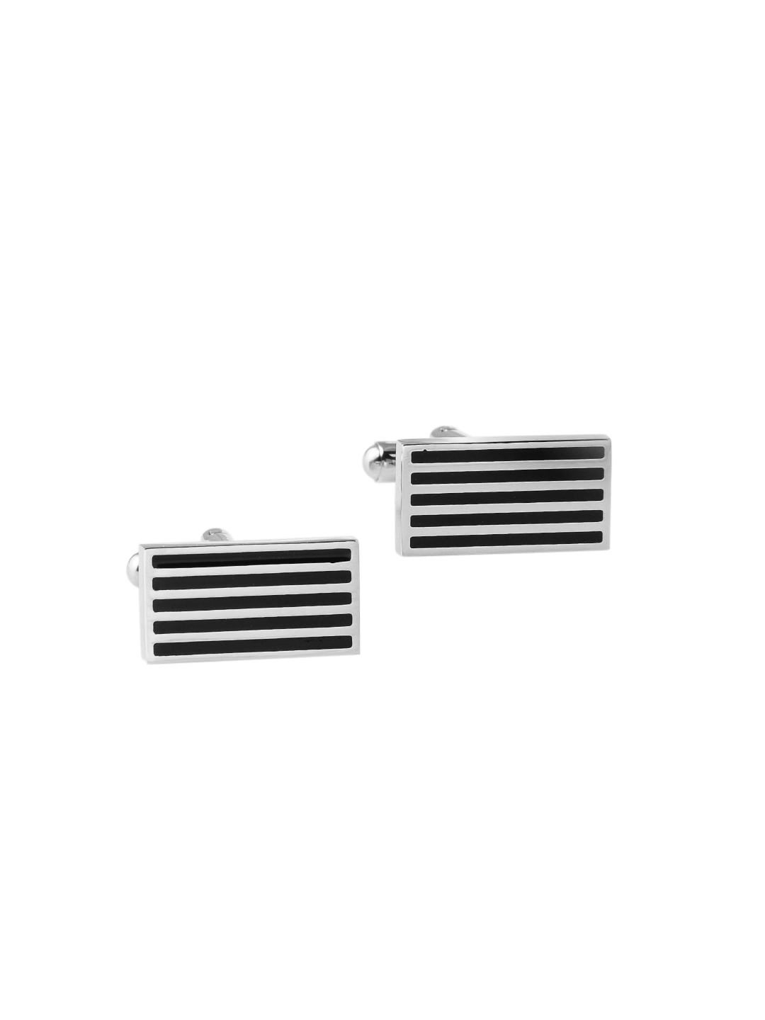 Revv Men Black Cufflinks
