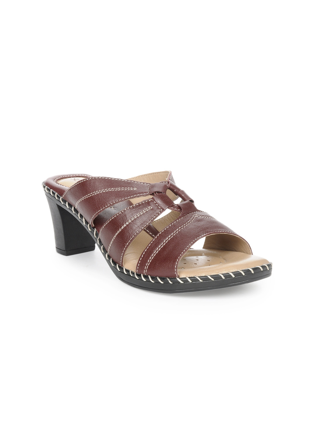 Senorita Women Maroon Sandals