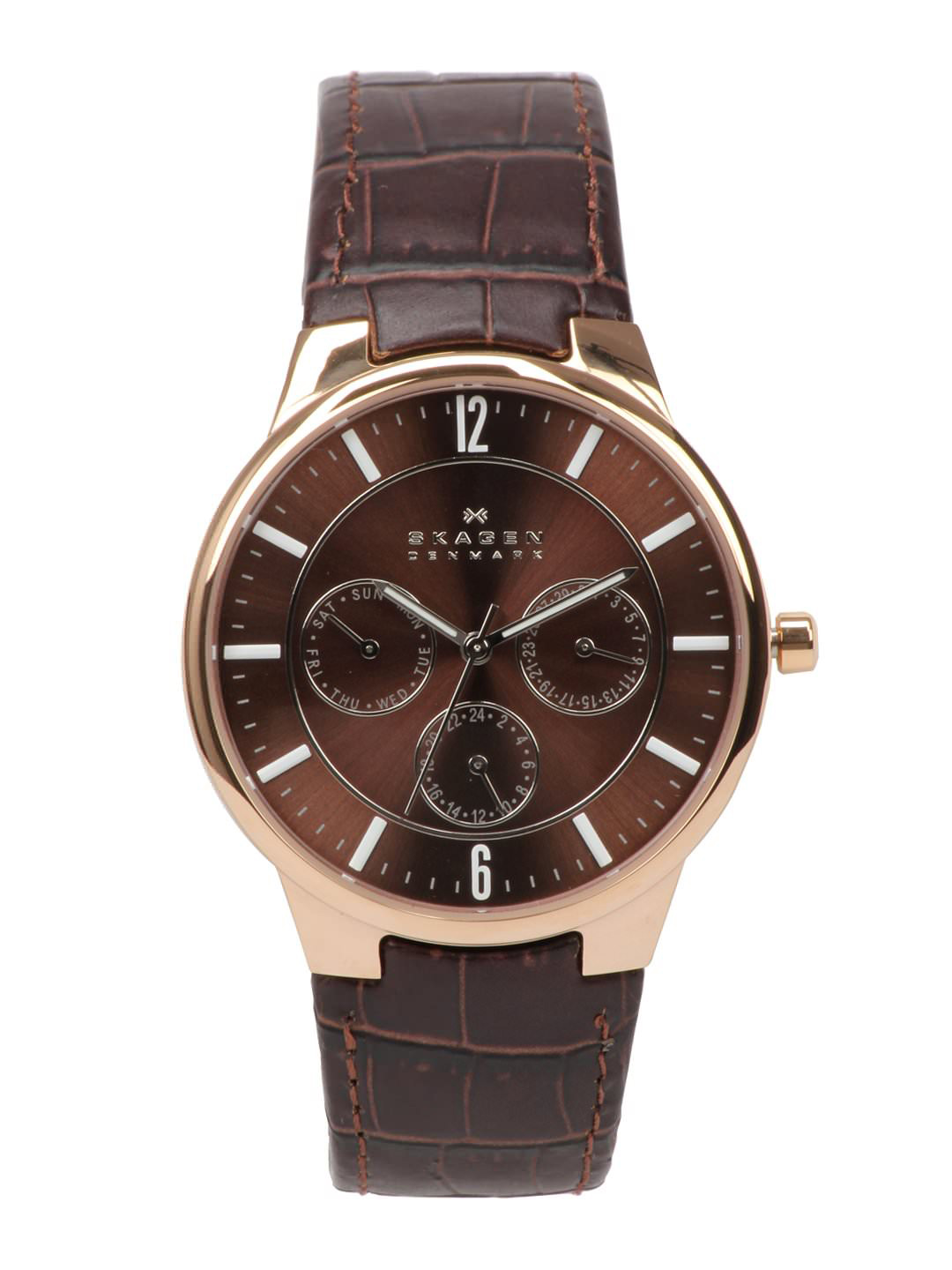 Skagen Men Chronograph Brown Watch